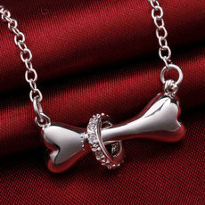 Dog Bone 18inch Pendant Necklace